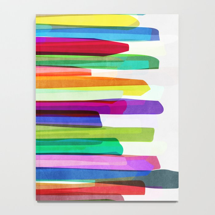 Colorful Stripes 1 Notebook