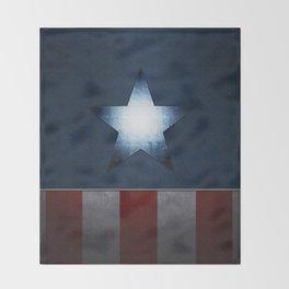 CAPTAINAMERICA Throw Blanket