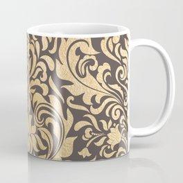 Gold swirls damask #9 Coffee Mug