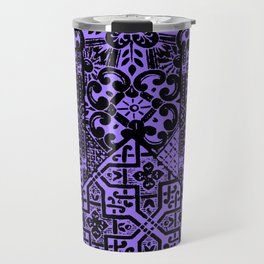 celtic knot purple Travel Mug