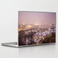 prague Laptop & iPad Skins featuring Prague 3 by Veronika