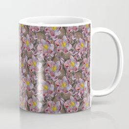 Magnolia Flower Pattern Coffee Mug