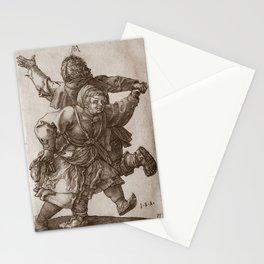 "Albrecht Dürer ""Peasant Couple Dancing"" Stationery Cards"