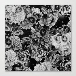 Black Roses Canvas Print