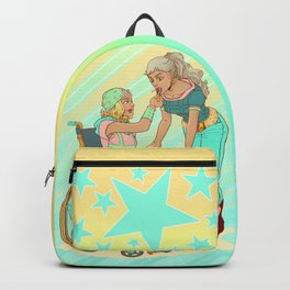 Gyro and Johnny Backpack