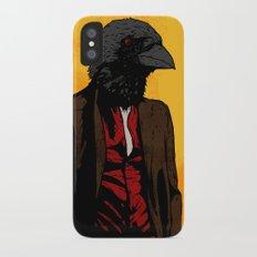 Nevermore iPhone X Slim Case