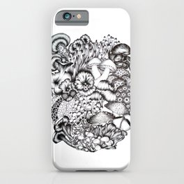 A Medley of Mushrooms iPhone Case