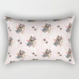 Pattern dog & triangles Rectangular Pillow