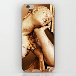 Statue thoughtful iPhone Skin
