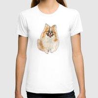 pomeranian T-shirts featuring Twinki Gurl Pomeranian by gretzky