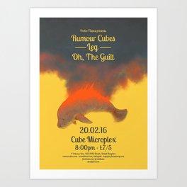 Probo Titans / Rumour Cubes Poster Art Print