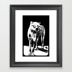Tasmania Tiger Framed Art Print