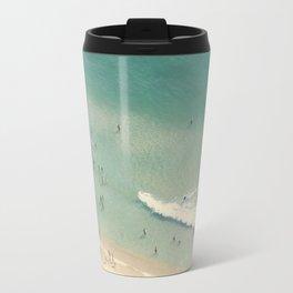 beach love II - Nazare Travel Mug