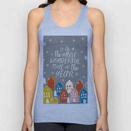 wondeful time of the year Unisex Tank Top