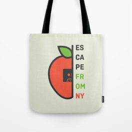 Escape From New York Minimalist Tote Bag