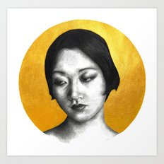 Silent Siren, Nasty Woman: Anna May Wong Art Print
