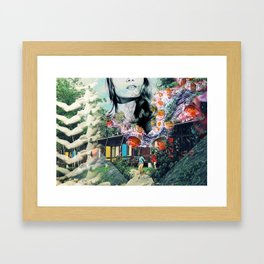 Dive Into Lucid Waters Framed Art Print