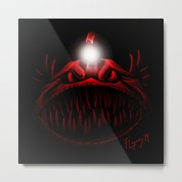 The Light Is Hungry Metal Print