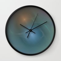 relax Wall Clocks featuring Relax... by Christy Leigh