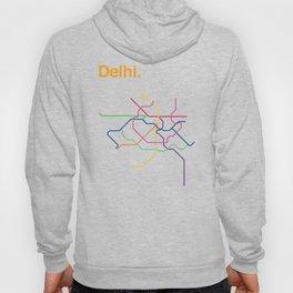 Dehli Transit Map Hoody