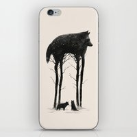 creepy iPhone & iPod Skins featuring Standing Tall by Dan Burgess