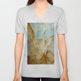 Galapagos Blue-Footed Booby Seabird Unisex V-Neck