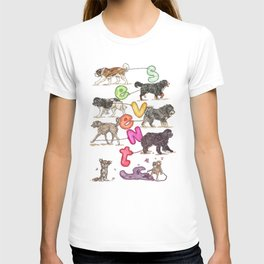 Dogs with Balloons T-shirt