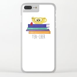 Teacher Clear iPhone Case