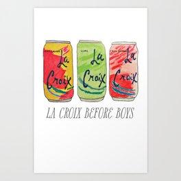 La Croix Before Boys Art Print