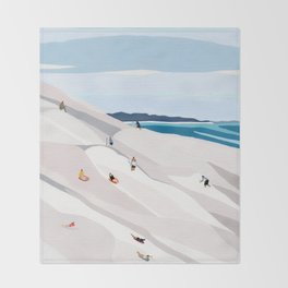 Sand Dunes Throw Blanket