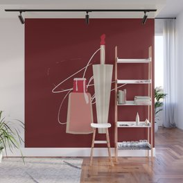 When Red Meets RED Wall Mural