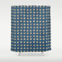 astrology Shower Curtains featuring Astrology 2 by lxcart