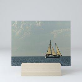 Full Sail on the High Seas Mini Art Print