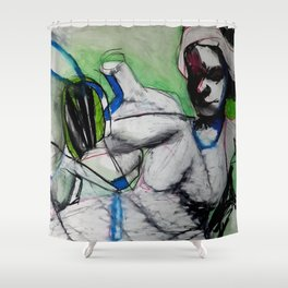 Submerged Shower Curtain