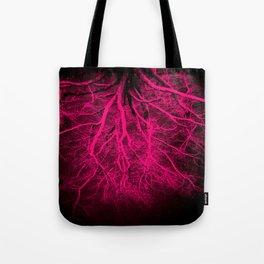 Twisted Dreams Hot Pink Tote Bag
