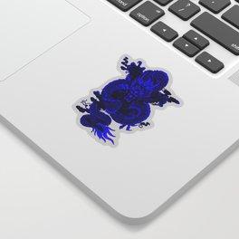 Epic Dragon Blue Sticker