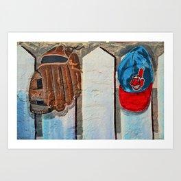 Cleveland Fort Myers Breakwall Art Print