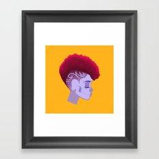 See Through Girl 5 Framed Art Print