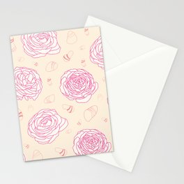 Tender roses Stationery Cards
