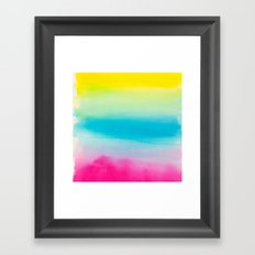 Watercolor I Framed Art Print