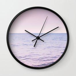 Blissful Ocean Dream #2 #pastel #wall #decor #art #society6 Wall Clock