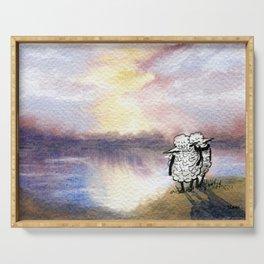 Companion Sheep Serving Tray
