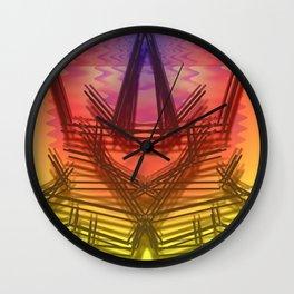Rough Prototype of a Starship Wall Clock