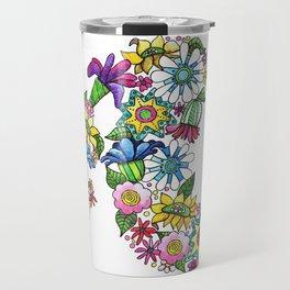 Blooming Ponytail Travel Mug