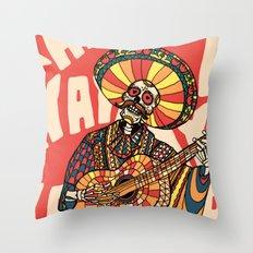 Mariachi Throw Pillow
