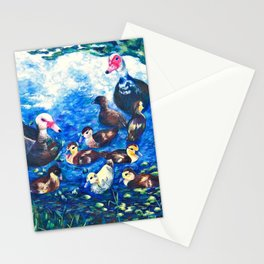 MUSCOVY FAMILY Stationery Cards