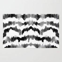 Rorschach Ink Stripes Rug