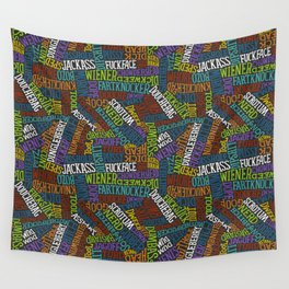 Curse Words Wall Tapestry
