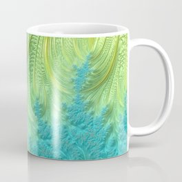 Tail Feather - Fractal Art Coffee Mug