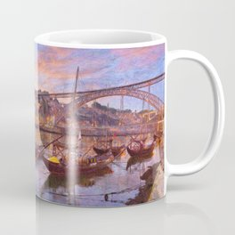 Porto at dusk Coffee Mug